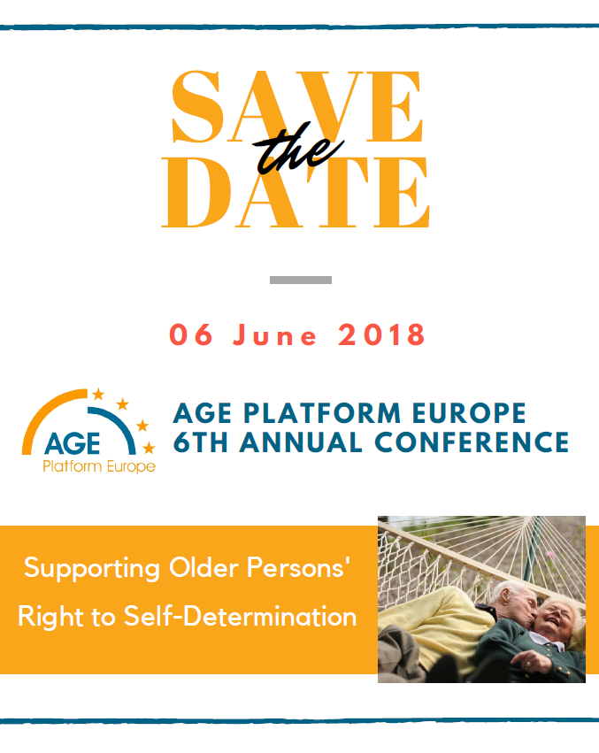 AGE Annual Conference 2018: Supporting older persons' right