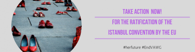 Istanbul Convention Campaign banner