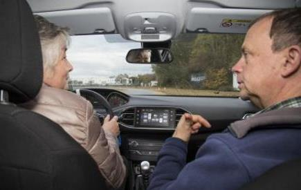 Senior driving course