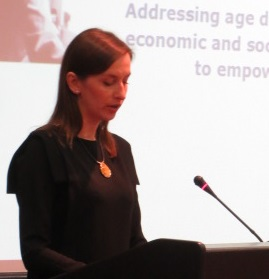 Sylwia Spurek speaking