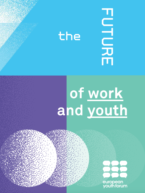 Youth Forum - The Future of work and Youth (cover page)