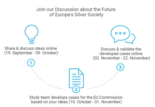 Diagram EU consultation on silver economy