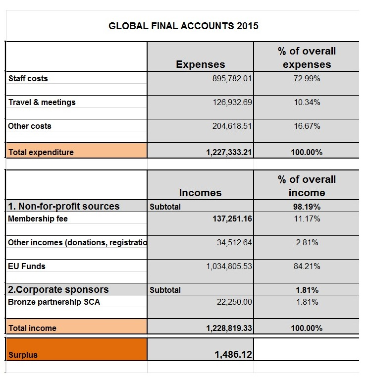 Global Final Accounts 2015